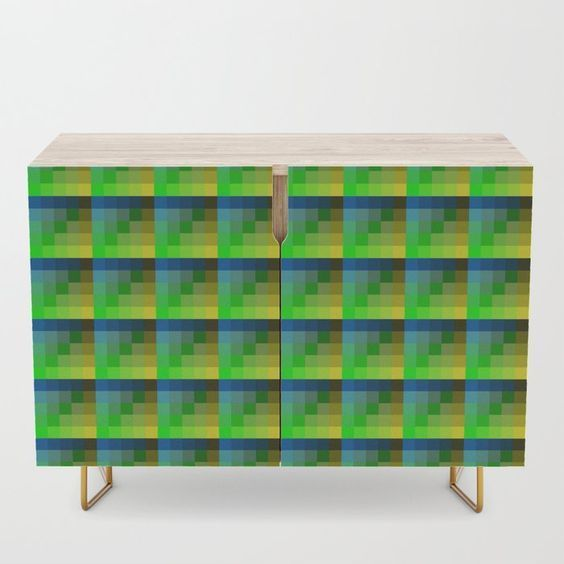 #Credenza by taiche | Society6 #vibrant #blueandlime #Multicolored #Pixelated #TilePattern #geometric #pixels #tilepattern, #artistic #pixel #squares #pixelart #glitch #pattern #repeatpattern #background #blur #blurred #psychedelic #lime #blue https://t.co/cVil8fsHqo https://t.co/O5qbf3MqBX