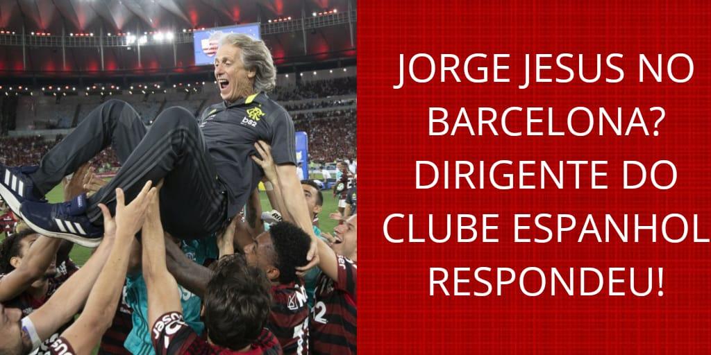 Tem vídeo no canal: Jorge Jesus vai deixar o Flamengo para comandar o Barcelona? Dirigente do time espanhol respondeu! youtube.com/watch?v=1xaOF3…