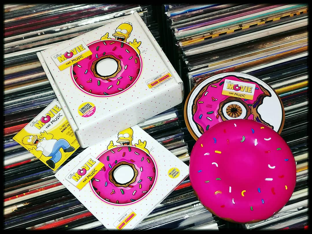 @TheSimpsons #NowPlaying #TheSimpsons #TheSimpsonsMovie The Music #Donut #Boxset #Soundtrack #Cd #Music #CdCollection pic.twitter.com/56EP3yNkTV