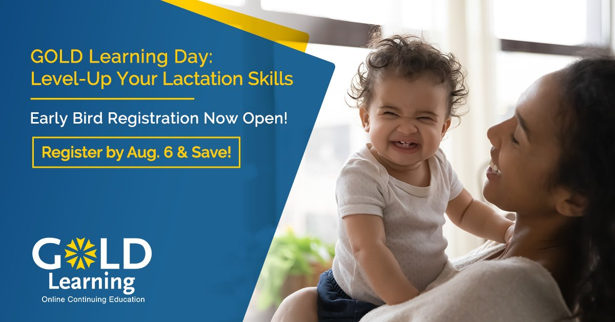 Level up your lactation skills with 3 informative presentations on Live on Aug. 17. Watch from home, work or on-the-go! Early bird registration is open until Aug. 6th, learn more here: https://t.co/qO8WOOjn8h  #IBCLC #Breastfeeding #lactation #maternalhealth  #lactationconsultant https://t.co/9tnwe6GIdf