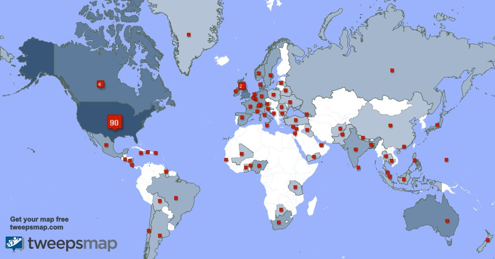 I have 19 new followers from USA yesterday. See tweepsmap.com/!lisareynaloe