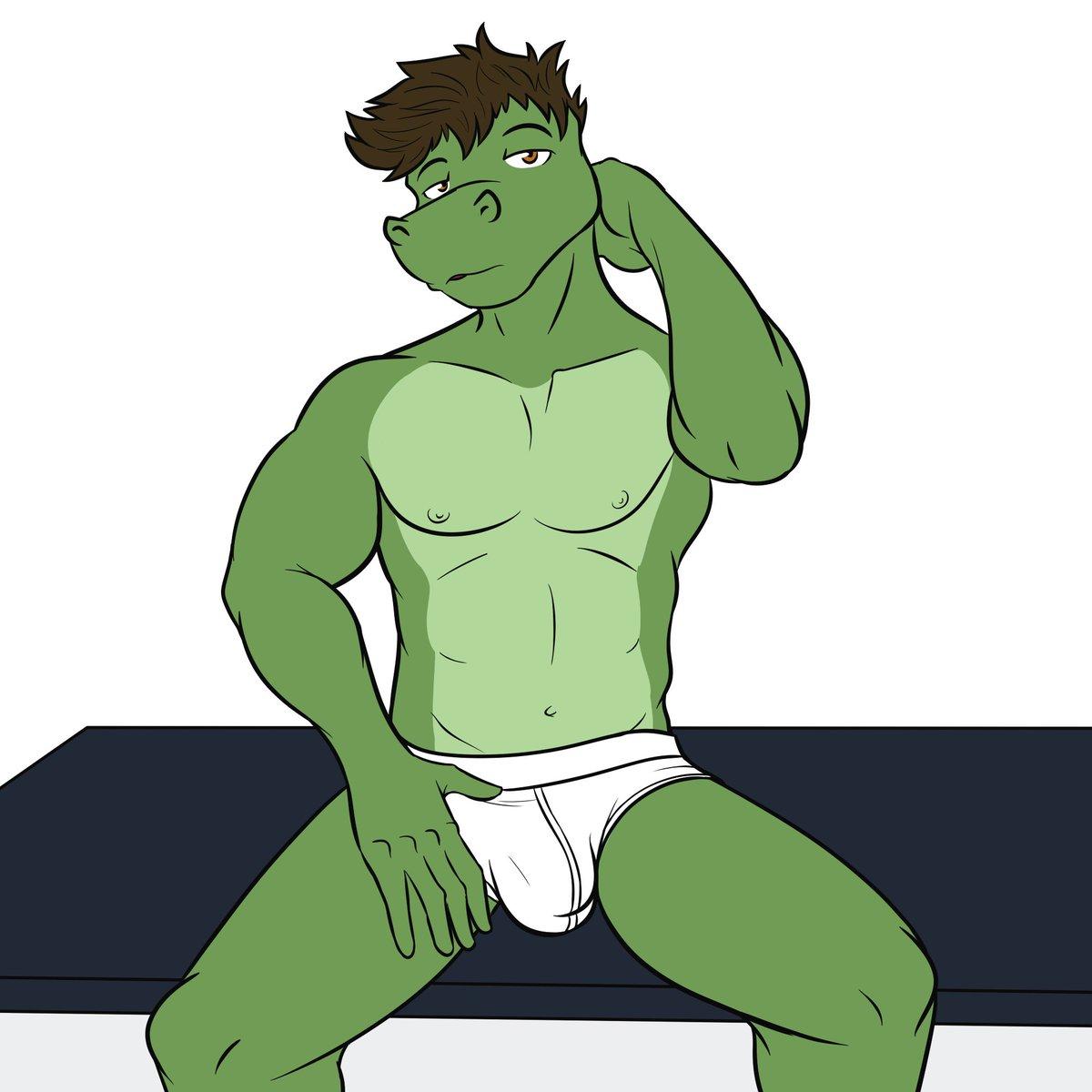 Hot gator pin up