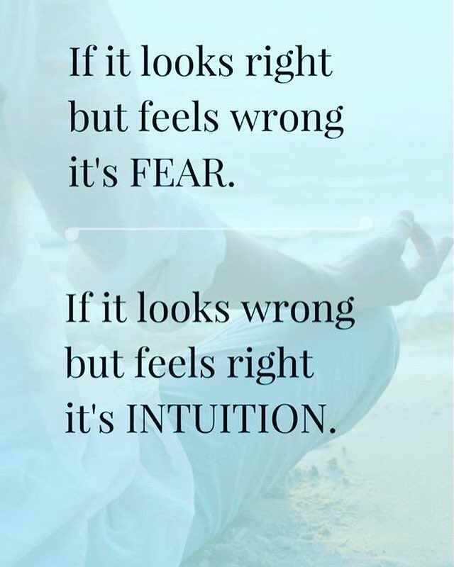 Invest the time with yourself to learn the difference. Game changer. #right #wrong #fear #intuition #intuitive #guidance #learn #lessons #pushyourself #energy #vibes #aura #metaphysical #gutinstinct #mind #soul #journey #growth #trust #faith #empath #empaths #medium #susangraupic.twitter.com/XutRMo35IP