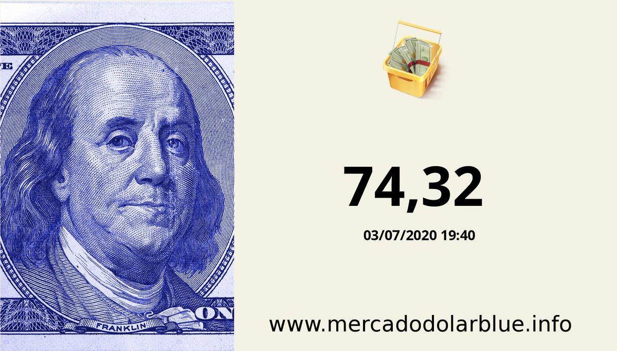 #Blue #DolarParalelo #Argentina  #DolarOficial: 74,32 #DolarBlue: 127,00 #EuroBlue: 142,54 #DolarEuro: 1,1224 https://t.co/gvOmfTmak0 https://t.co/QwqHtC8eeT