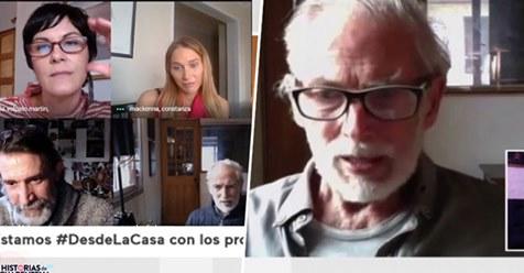"""Héctor Noguera confiesa que le """"costó un rato largo entender"""" cómo se iba a grabar Historias de Cuarentena >> https://t.co/6WHdA68Owb https://t.co/xucrAkq80y"""