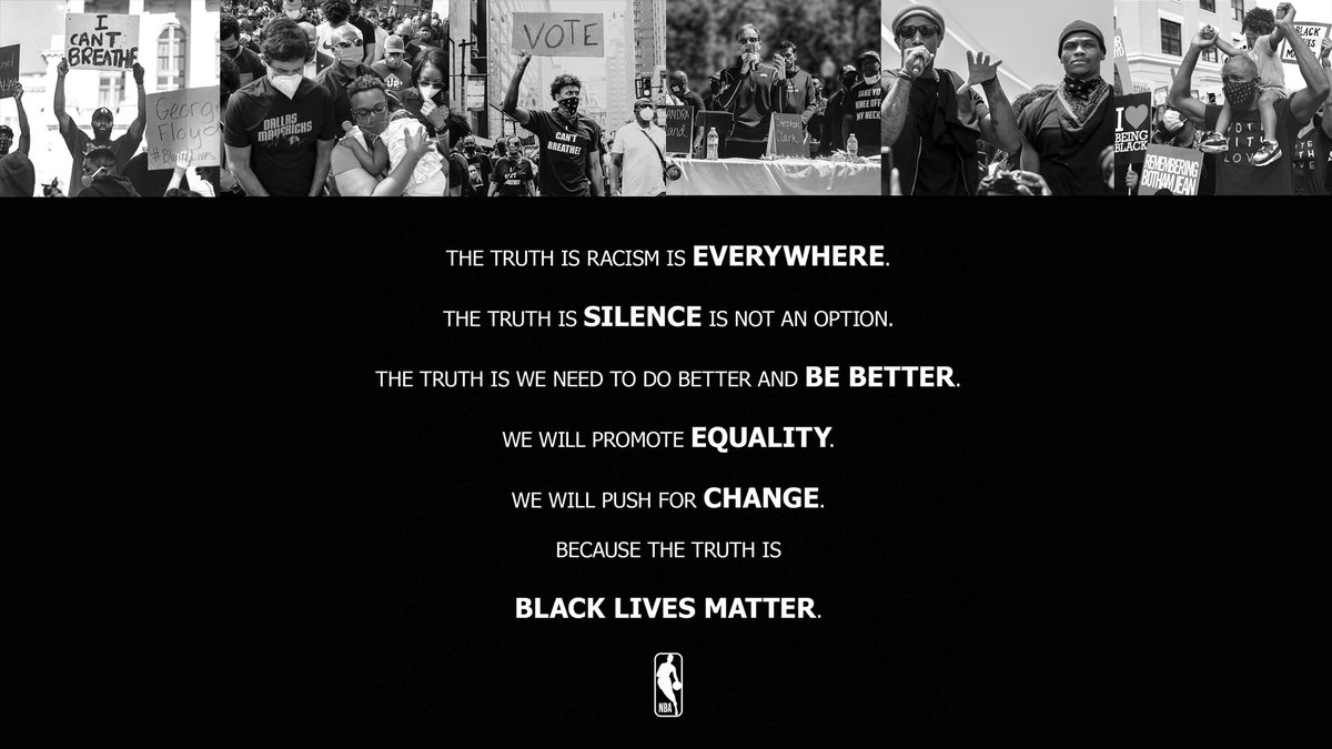 The truth is #BlackLivesMatter. https://t.co/muvC1Ftpqd
