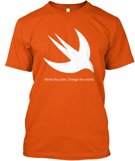 Attention Swift Programmers show the world your love for Swift  http:// bit.ly/1KugLgN     #iosdv #swiftlang <br>http://pic.twitter.com/Li9NLDxRGL