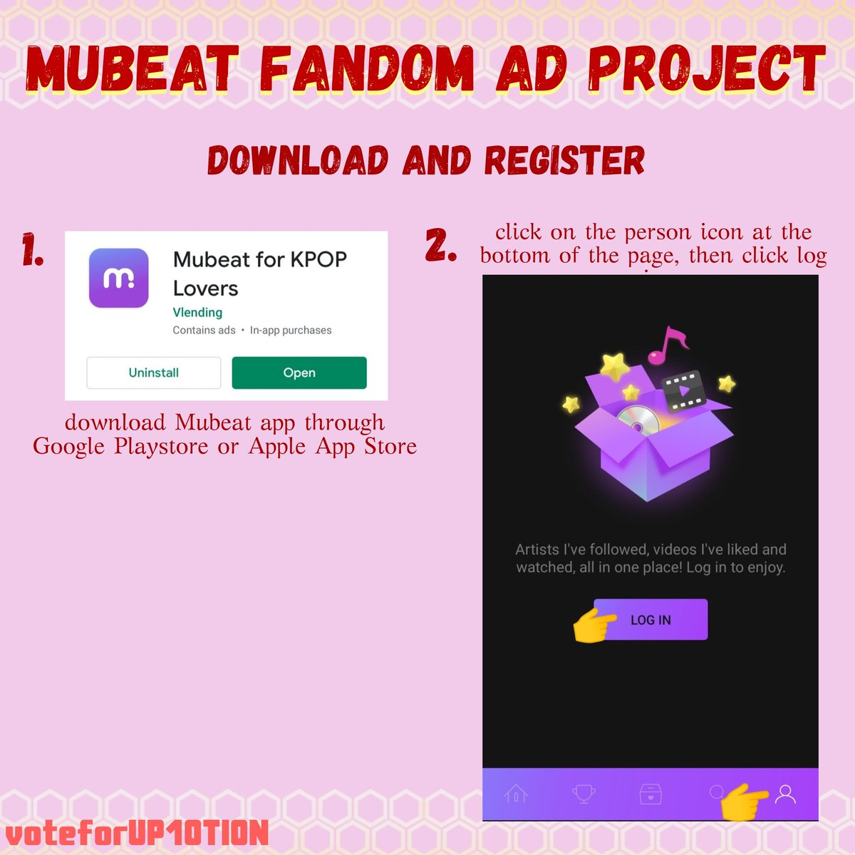 Aloha Honeys! Our dearest Jinhoo and Bitto's birthday is coming next month! There's a fandom ad project suggested by @TwoTwelvee on Mubeat App and here's the guideline to participate in the project^^<br>http://pic.twitter.com/zq3Zua2IJJ