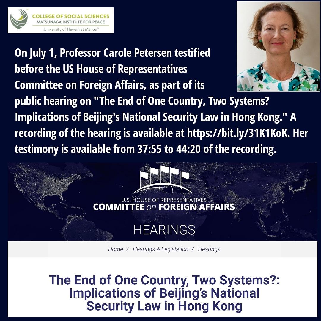 Image for the Tweet beginning: On July 1, Professor Carole