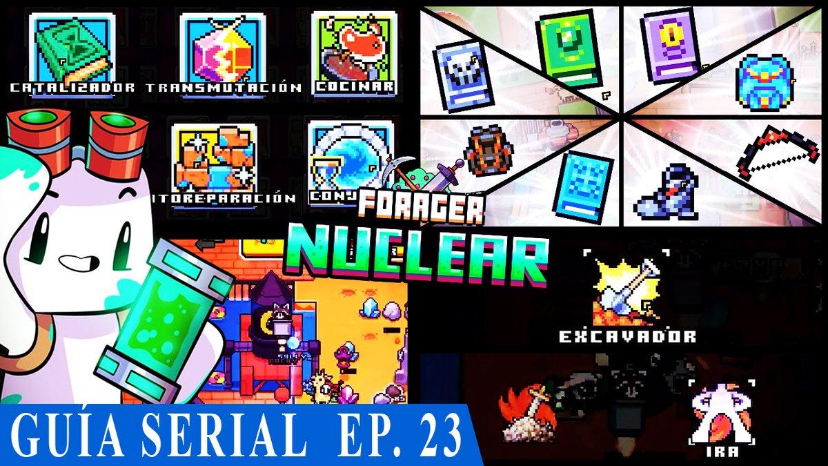 La cantidad de habilidades e items que conseguimos no es normal, ¡no te lo pierdas este #forager nuclear!.  Para verlo-> https://t.co/bJitZqHkrM  @_HopFrog #youtube #indiedev  #gog #steam #indiegames #gamer #PS4 #macos #Linux #Microsoft #Windows #RPG @BlazedRTs https://t.co/0arOQSYMho