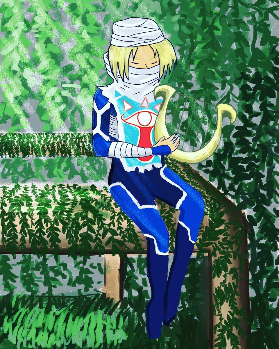 Commissioned piece of sheik #digitalpainting #illustratorsoninstagram #sheik #legendofzelda #painting #drawing #artistsoninstagram #zelda #ootpic.twitter.com/HQQyNKU0lg