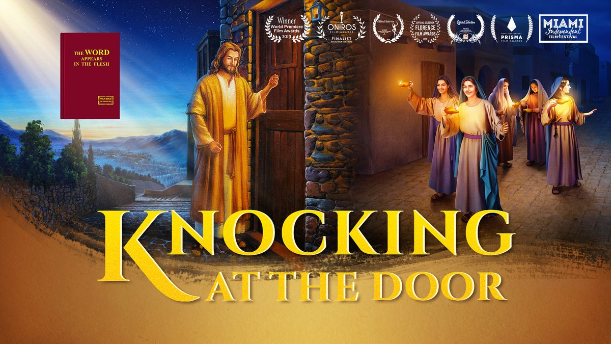 "How to Welcome the Second Coming of Lord Jesus in Last Days | ""Knocking at the Door"" Christian Movie. Do you know what is the most important way to welcome the return of the Lord?             https:// youtu.be/HqOoqBEIM5I?so urce=ustt   …   #GospelMovie #voiceofGod #truth<br>http://pic.twitter.com/4mPWyCGbQO"