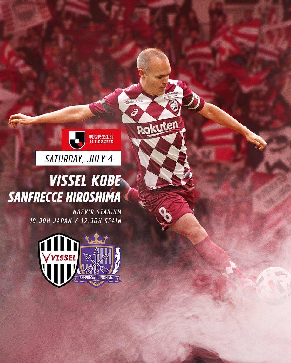⚽️💪🏼 Vamos @visselkobe! https://t.co/cRYsyAhugm