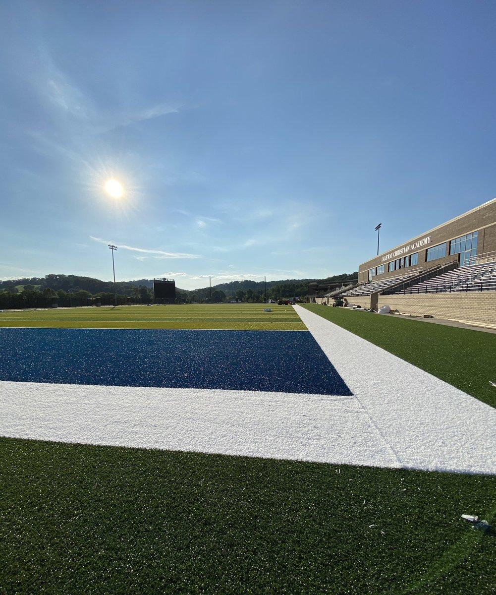 .......Beautiful!!!  LCA Football Stadium<br>http://pic.twitter.com/ETZtyuVWCq