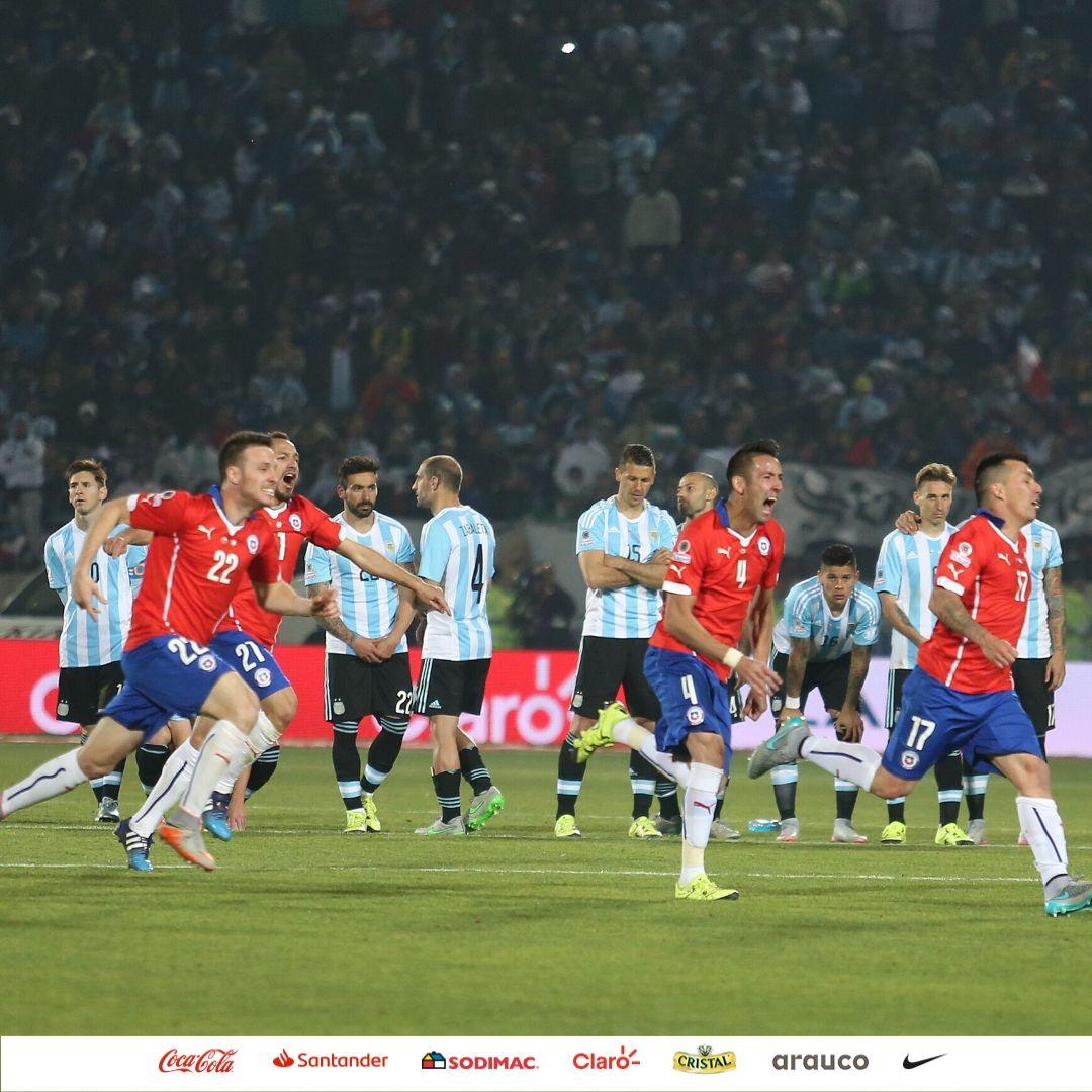 Selección Chilena en 🏡 @LaRoja