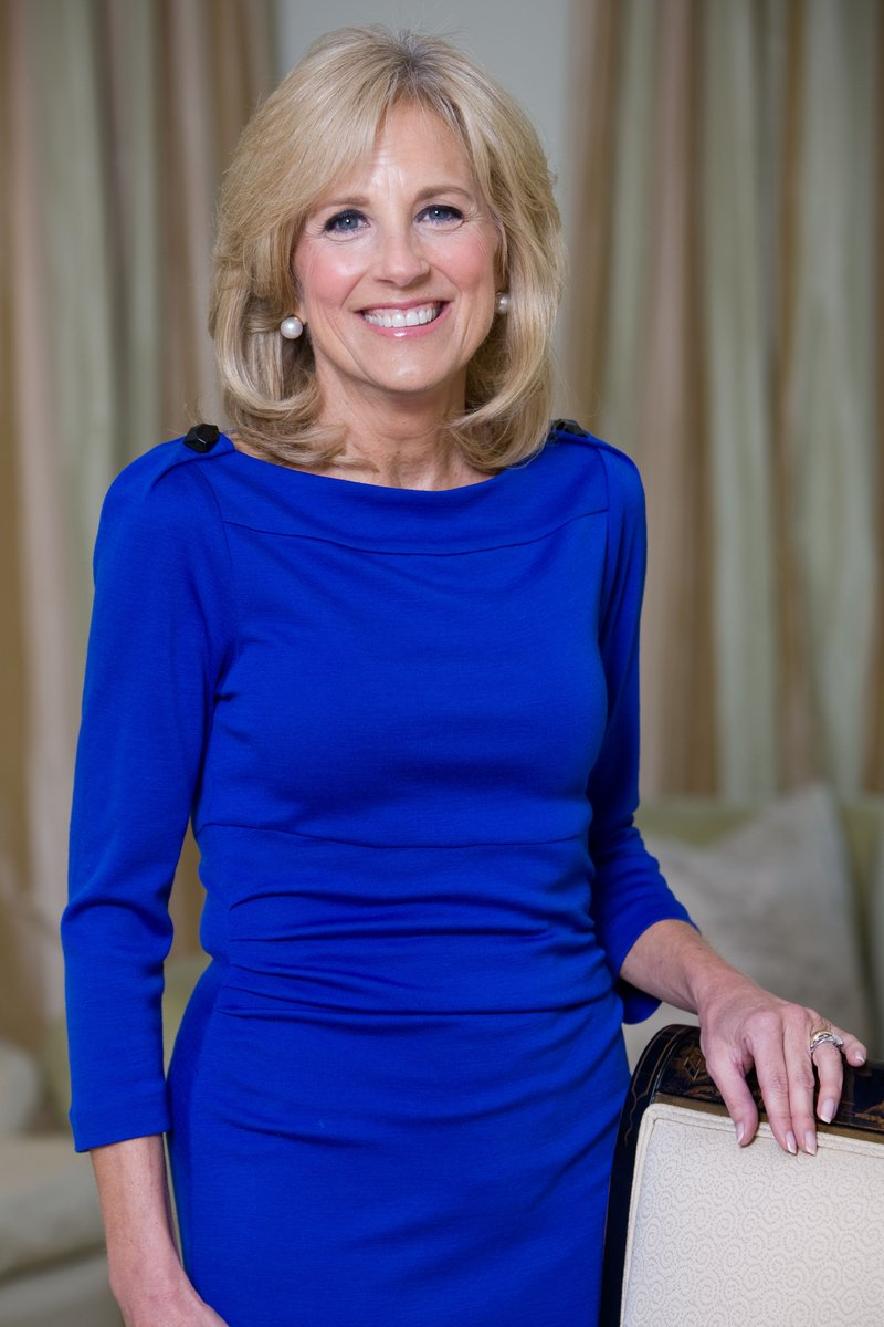 #jillBiden seems to be carrying most of the load for @JoeBiden's campaign