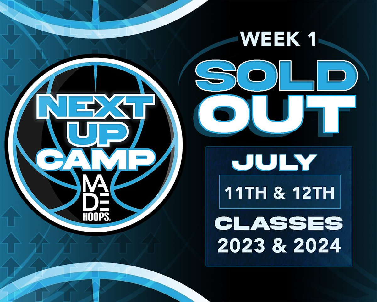 Week 1 is SOLD OUT!  📲 Join the waitlist: https://t.co/9u6x7h29jp https://t.co/tIBLRPpYM3