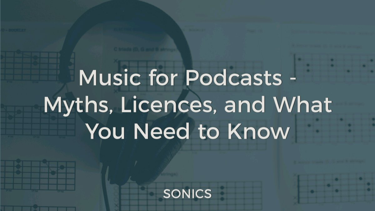 Music for #Podcasts: Myths, Licences, and What You Need to Know bit.ly/3iqKv1v