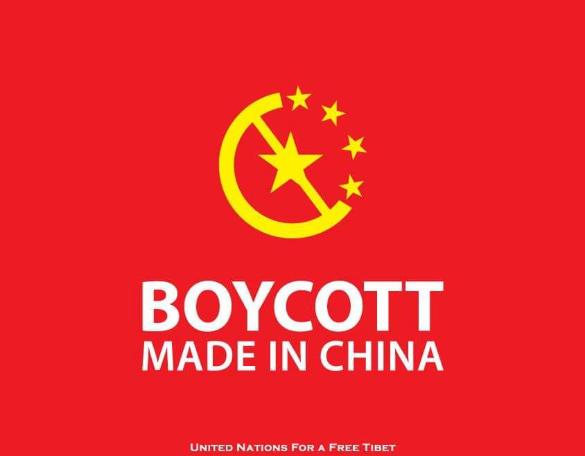 China is changing its labeling to 'Made in P.R.C.' #BoycottChina is working. We are hurting the CCP. Success! Keep fighting! ✊💪👍👏 https://t.co/C8K5TUMK9Z