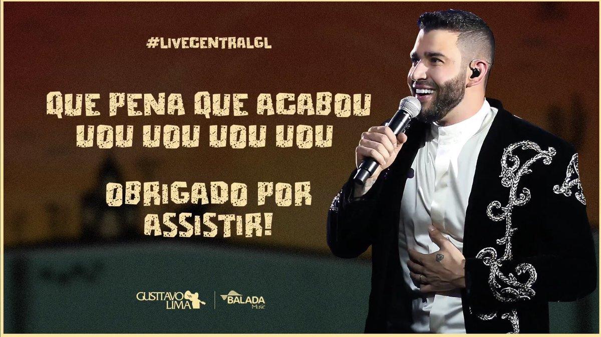 RT @GL_centraldefas: Muito obrigada a todos que assistiram!!! Esperamos que tenham gostado!!! #LiveCentralGL https://t.co/5LywICJchM