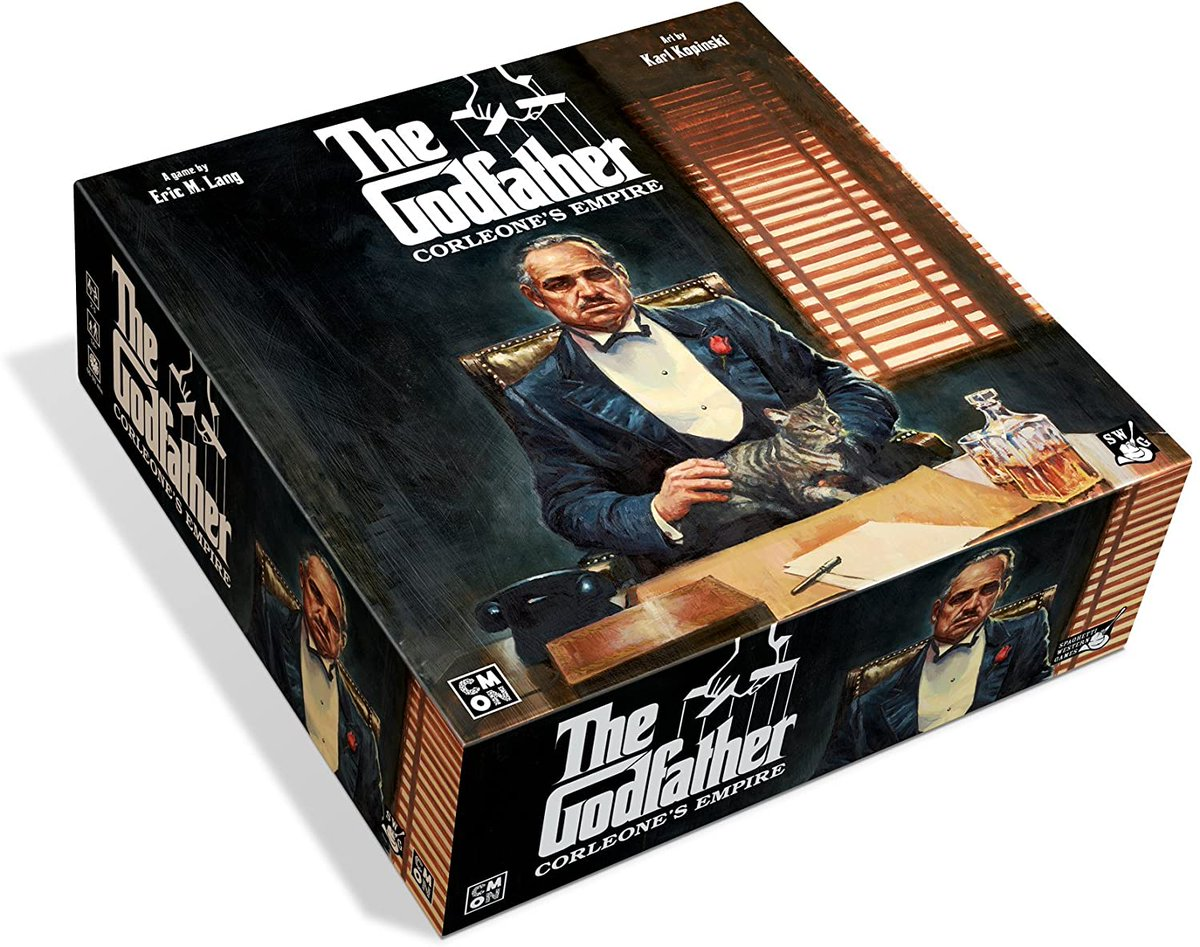 The Godfather: Corleone's Empire for 63% off #ad amzn.to/2D7WalM