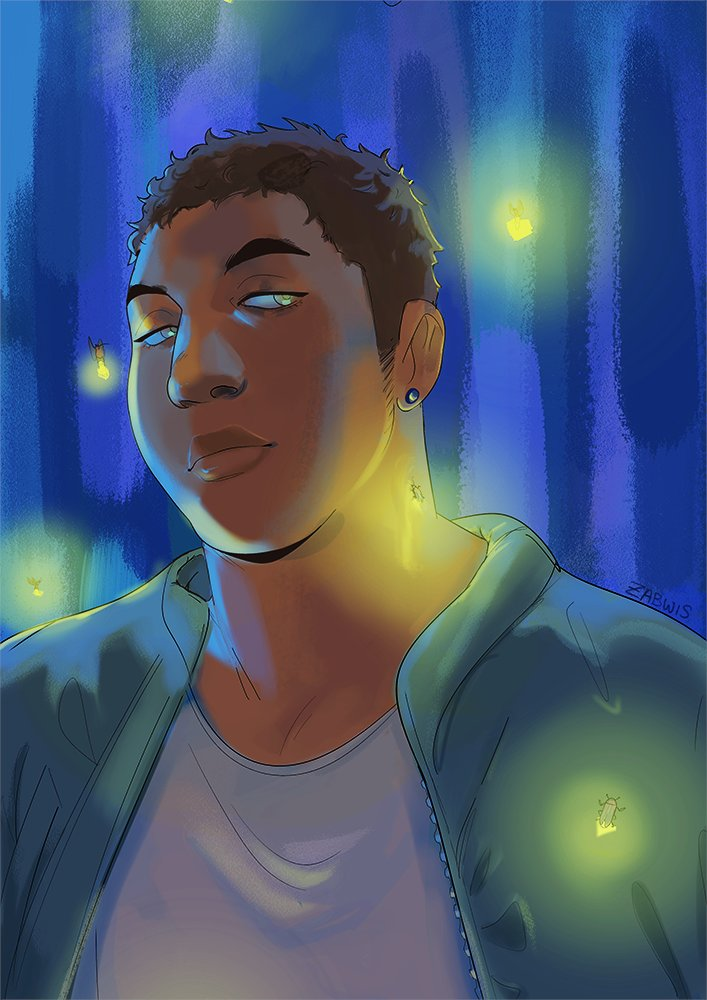 [oc] people say that fireflies are the souls of the dead https://t.co/B6SqB8hUDa