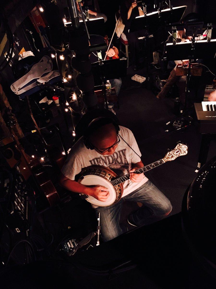 'The Room Where It Happens'! Banjo time, folks. @robinmacatangay #HamilFilm
