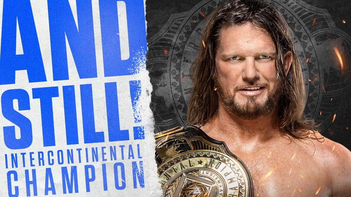 They don't want none.  #ICTitle #SmackDown @AJStylesOrg https://t.co/wl9bqptMFU