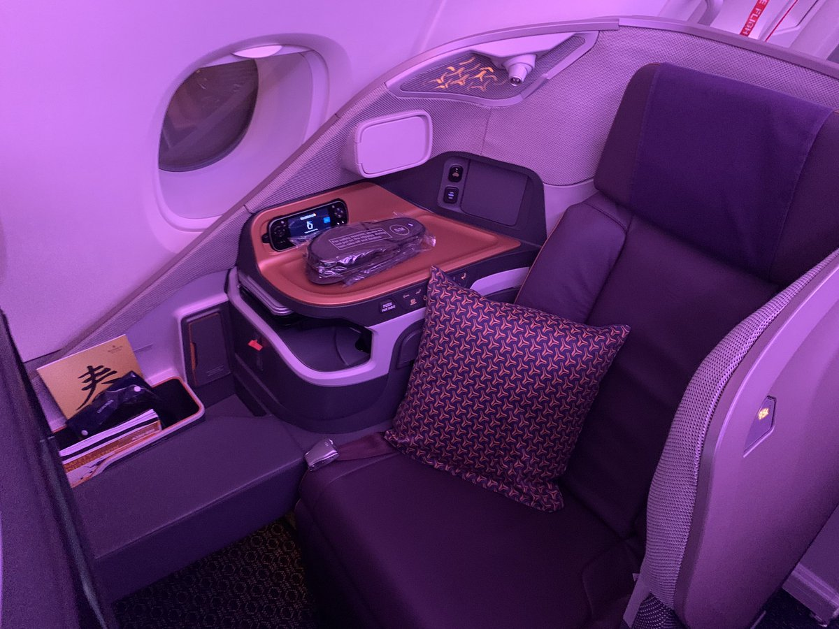 YouTubeで世界最高基準の https://t.co/QL5oa0PKr4 ANA シンガポール航空の最新ビジネスクラスを紹介してます。 https://t.co/vXcnN5i4Ps