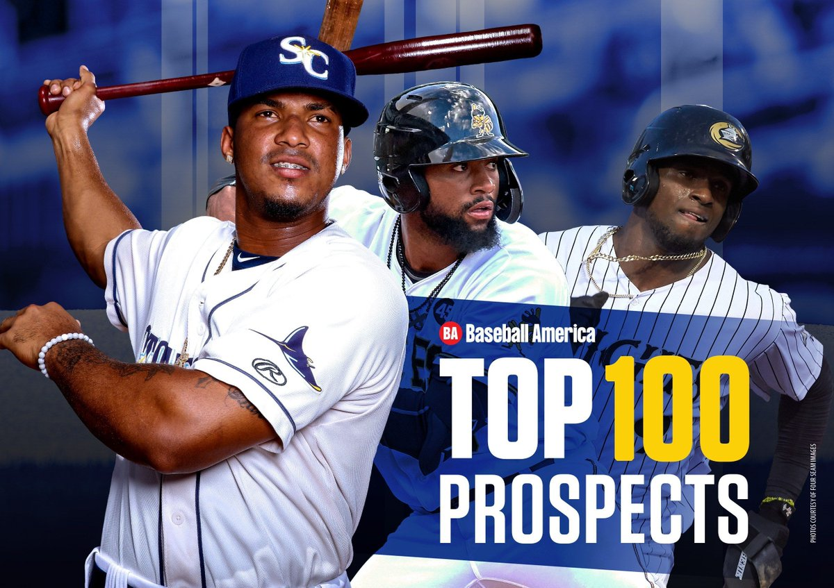 Heres our midseason Top 💯 These are the teams with the most prospects: @Dodgers — 6 @Marlins — 6 @Padres — 6 @RaysBaseball — 6 @Dbacks — 5 @Mariners — 5 @tigers — 5 buff.ly/3ay9hJ9