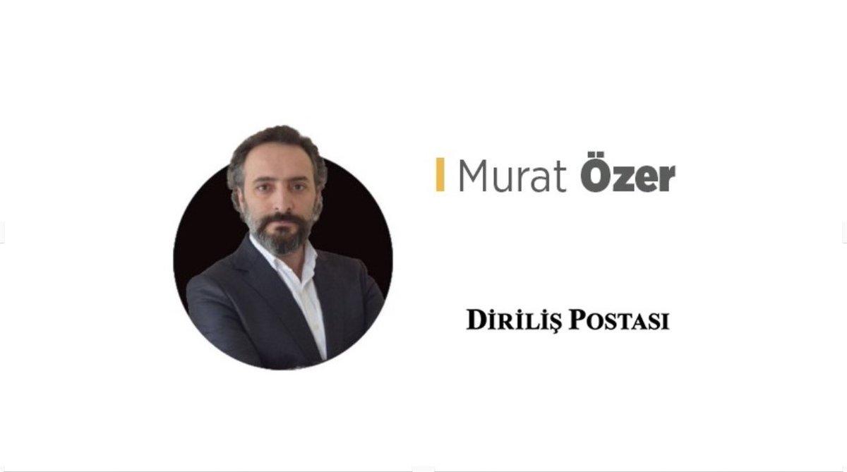 """Murat Özer yazdı """"Medyaya tek seslilik hakim"""" mi dediniz? Fikir ve düşünce özgürlüğü ayrı bir şeydir, küfür, hakaret ve tehdit ayrı bir şey. 🔗Diriliş Postası: bit.ly/2NWusKK 🎙Spotify: spoti.fi/2S2Slno 🎙Apple Podcast: apple.co/2YNltTh"""
