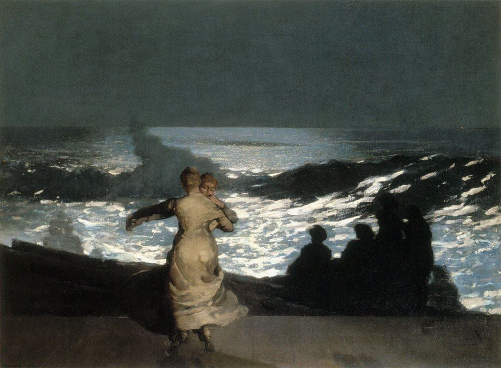 #SomethingBeautiful  'Summer Night' by Winslow Homer<br>http://pic.twitter.com/YLwQAmYPcC
