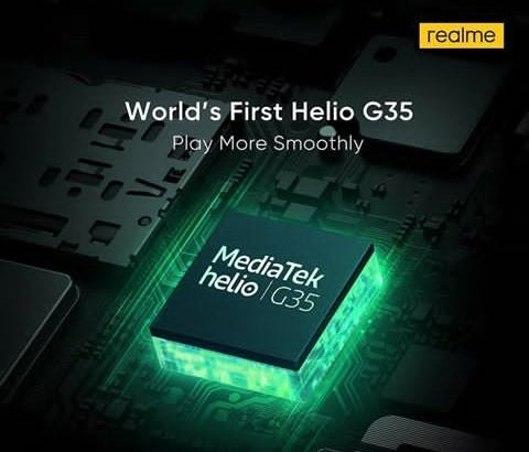 Realme can launch its new smartphone in India, in which you will get Mediatek Helio G35 Chipset will be given friend. Stay with me .Jay hind#realme #RealmeIndia #Realmeglobalpic.twitter.com/mJyhNOl9y5