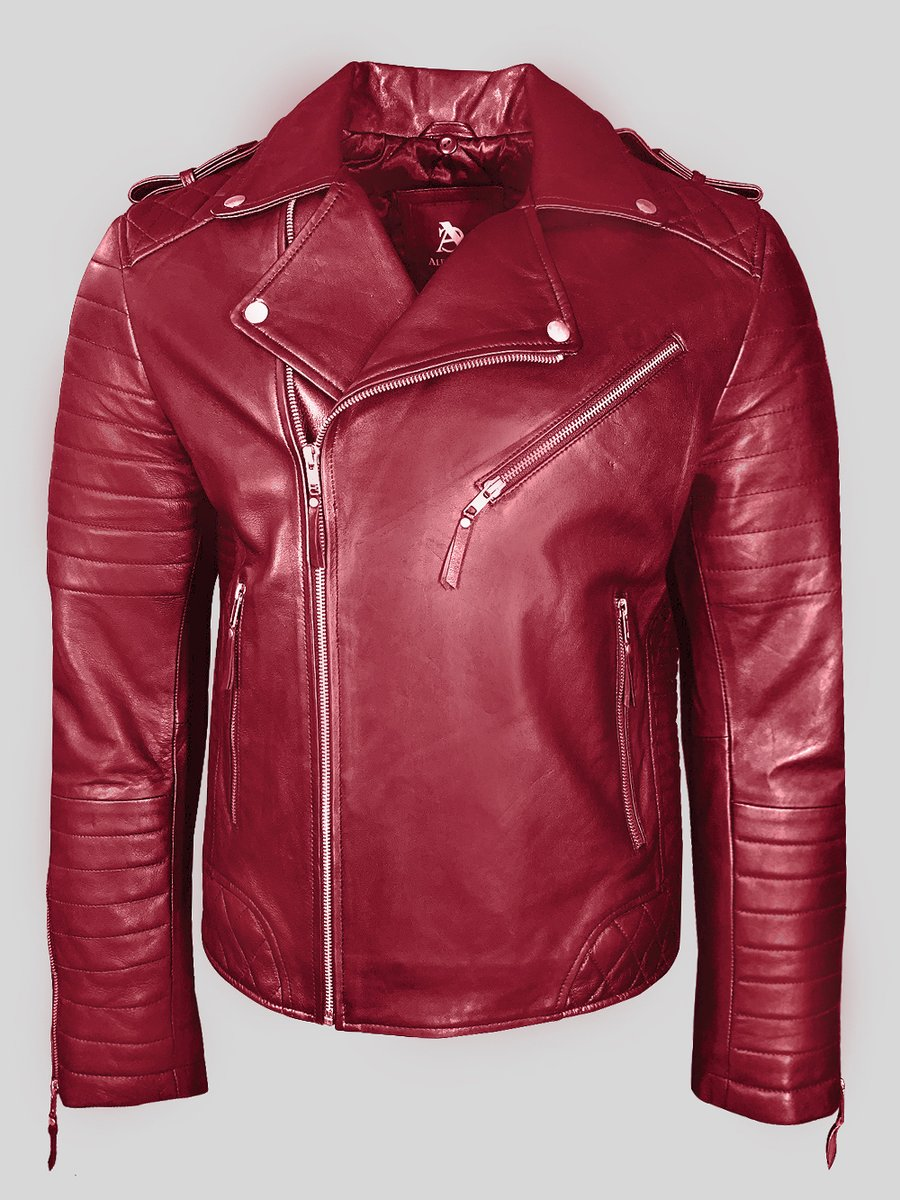 LAPEL COLLAR SUPER STYLISH REAL LEATHER BIKER JACKET FOR MEN IN WINE  #Lapel #collar #super #stylish #real #leather #biker #jacket for #men in #wine belongs to @alencooperus latest #winter #outerwear #collection 2020  Get it here --- https://t.co/ACsSEvHejU https://t.co/8zDyHJHXJ8