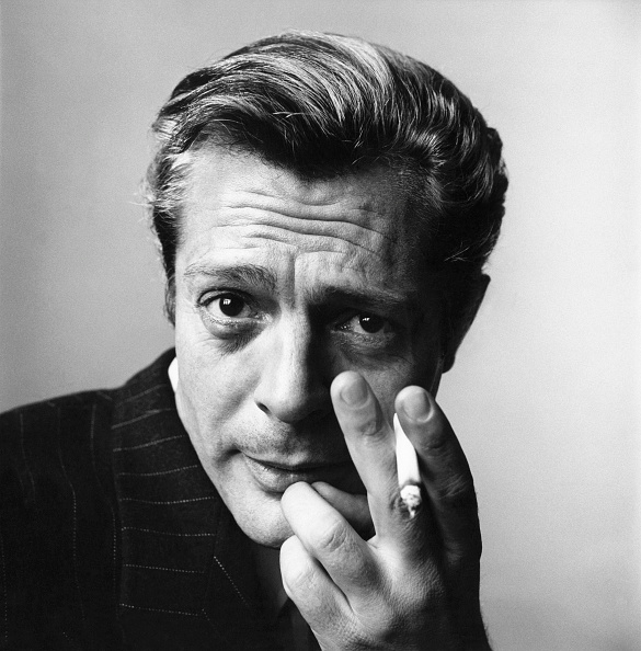 When I was young, life seemed long and endless to me. Marcello Mastroianni (Italian actor, 1963) 📷© Irving Penn