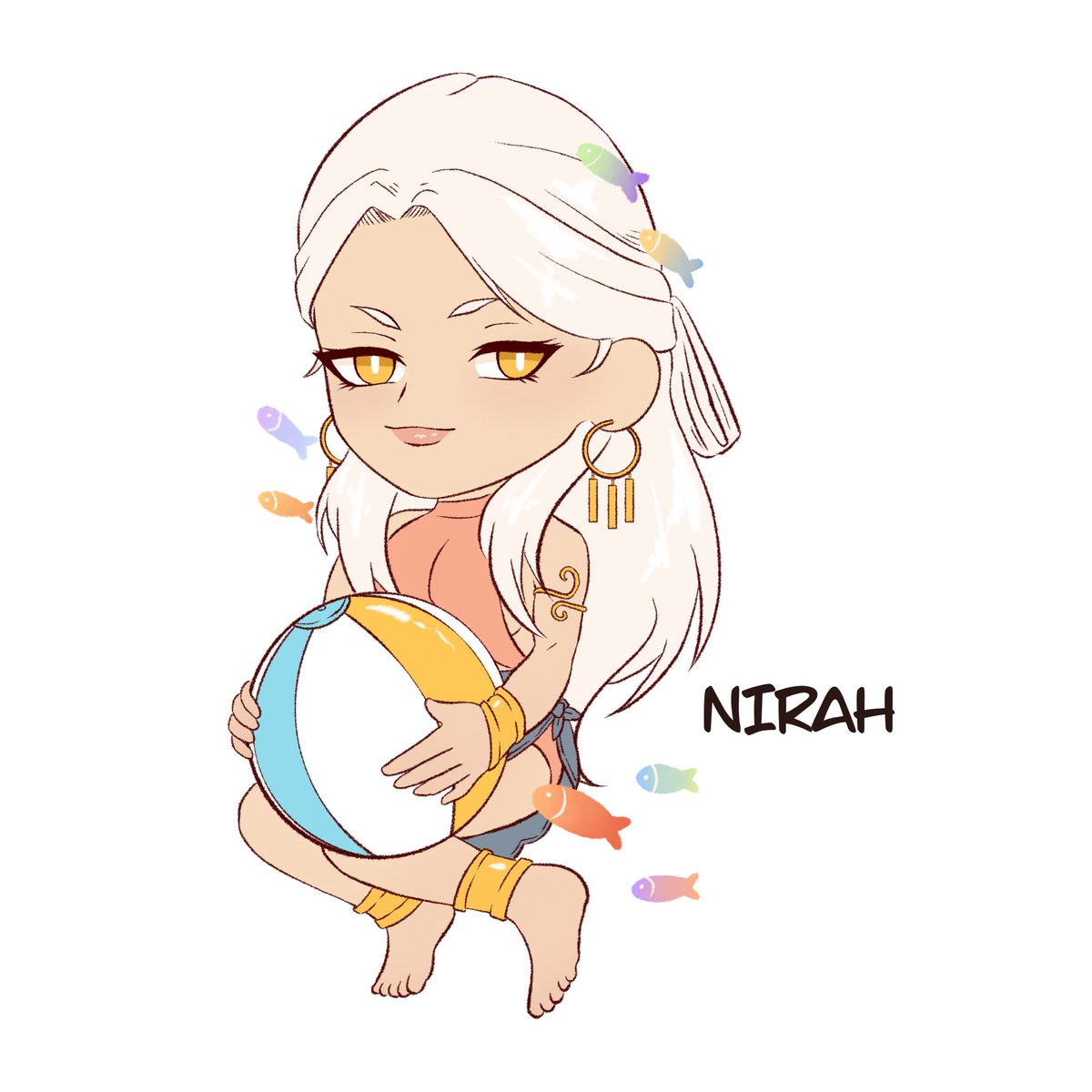 Nirah's Summer Tale Charm!! This style is so cute!!!! This was so hard though because I'm not used to drawing chibi style —- Please don't edit or repost without permission, thanks! #thearcanagame #thearcanamc #thearcanasummertalepic.twitter.com/lvRx6UCQ0S