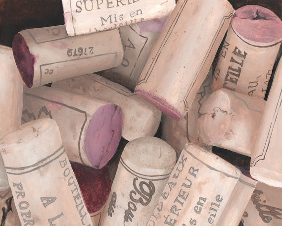 French Wine Corks Print from Original https://t.co/BRi27orvTv via Etsy #french #frenchwine #wine #art https://t.co/65MQ5Ujz5b