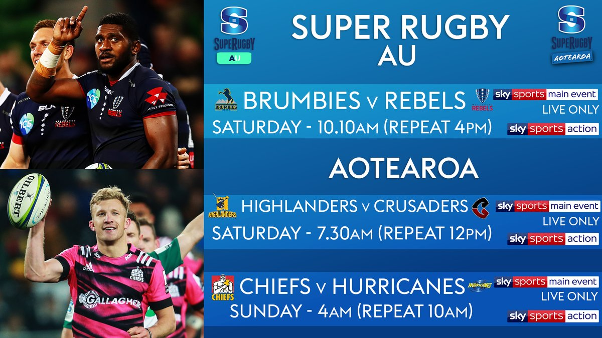 test Twitter Media - Something for all our @SuperRugby fans this weekend! 👇   Kicking-off round 4️⃣ of #SuperRugbyAotearoa with @Highlanders V @crusadersrugby 💪   Who are you backing?🙌 https://t.co/fHDaHtjGH3