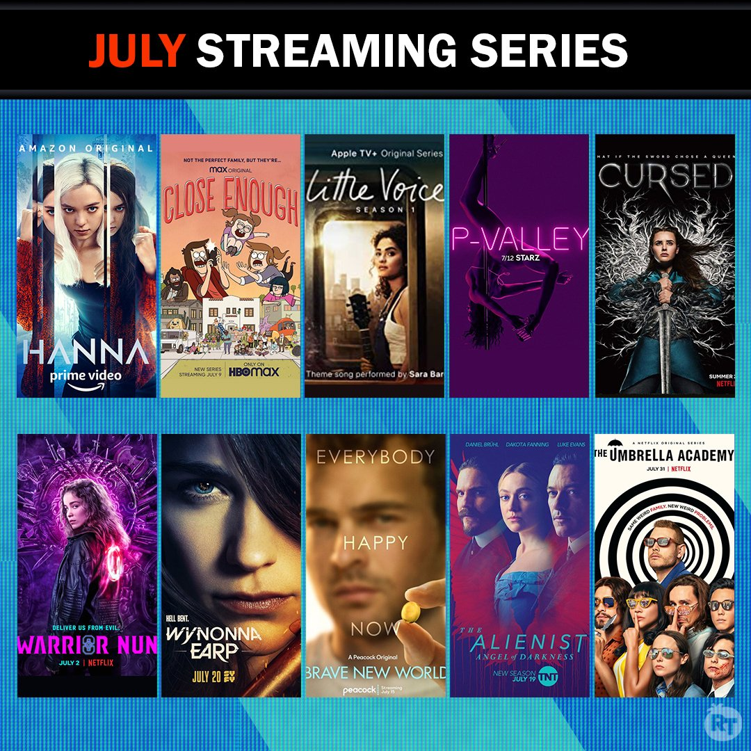 Which series are you most looking forward to watching this July?