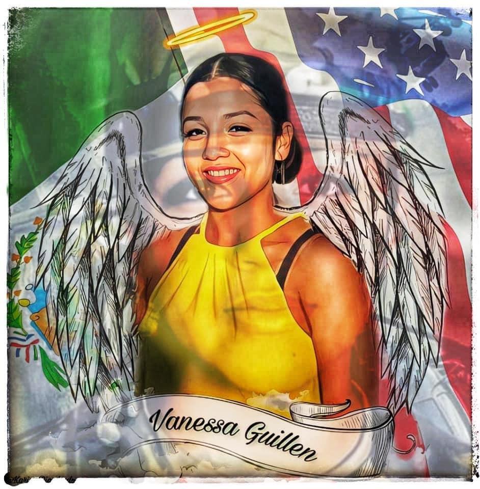 #SayHerName #JusticeForVanessaGuillen #VanessaGuillen #NoJusticeNoPeace #SHUTFORTHOODDOWN #shutforthoodbase https://t.co/jdpYEkS5UN