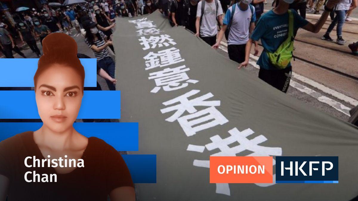 'We just really f***ing love Hong Kong': Can you criminalise us?   https://t.co/rLiKX5ELV2 https://t.co/iDdrWd60v1
