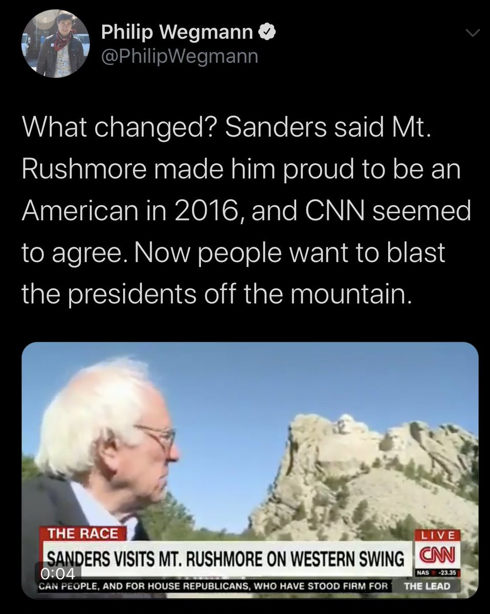 This is CNN. Same show. Same location. Different politician. What changed?