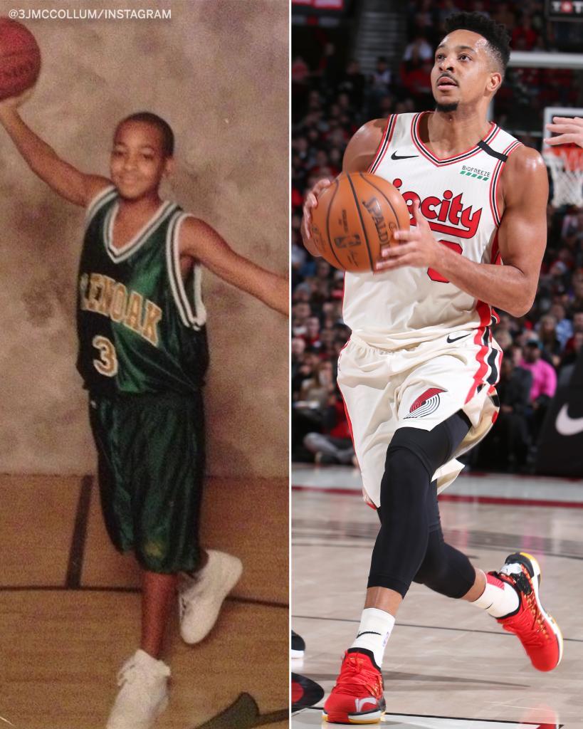 NBA players in high school vs. now 😀📸 https://t.co/sQn1dX8MnI