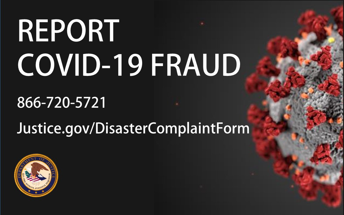 Do you shop online? The next time you buy a product, beware of sellers who demand you pay fees related to fake #COVID19 shipping laws or regulations. These sellers are fraudsters.https://t.co/XiVuIQDfbi https://t.co/WrA3E16MOC