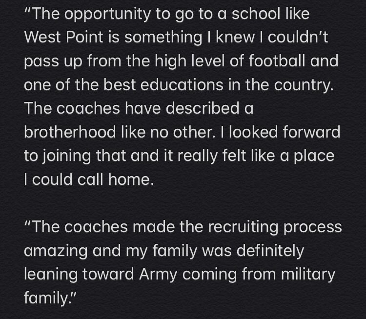 Zach Mundell on #ArmyFootball commitment: twitter.com/salinterdonato…