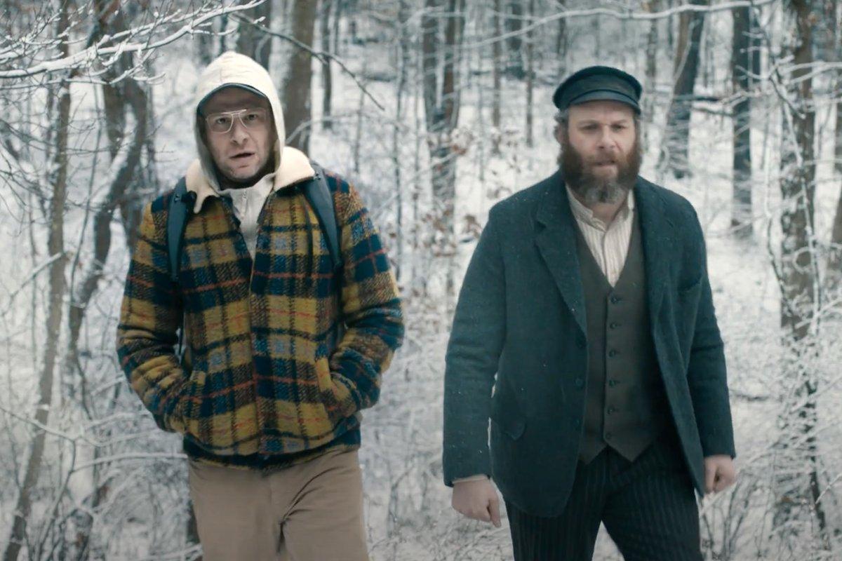 Seth Rogen é o próprio avô no trailer de An American Pickle, novo filme da HBO Max: https://t.co/MoyQRN7Xk7 https://t.co/rP80A8XBoc