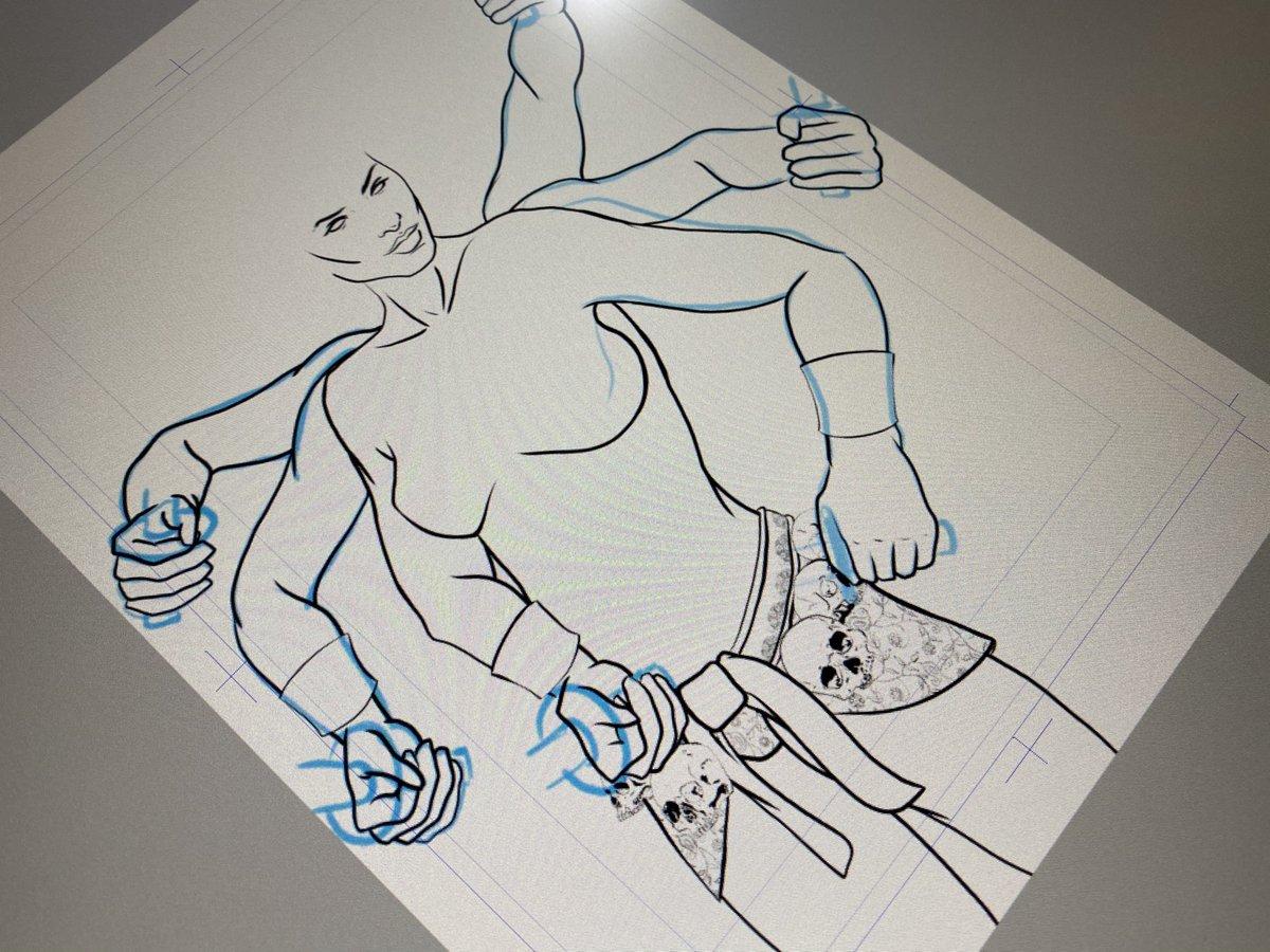 #RayHarryhausen #fanart #art #wip #digitalillustration #clipstudiopaint #disabledartist #coloradoartistpic.twitter.com/Pr0I6gjBb7