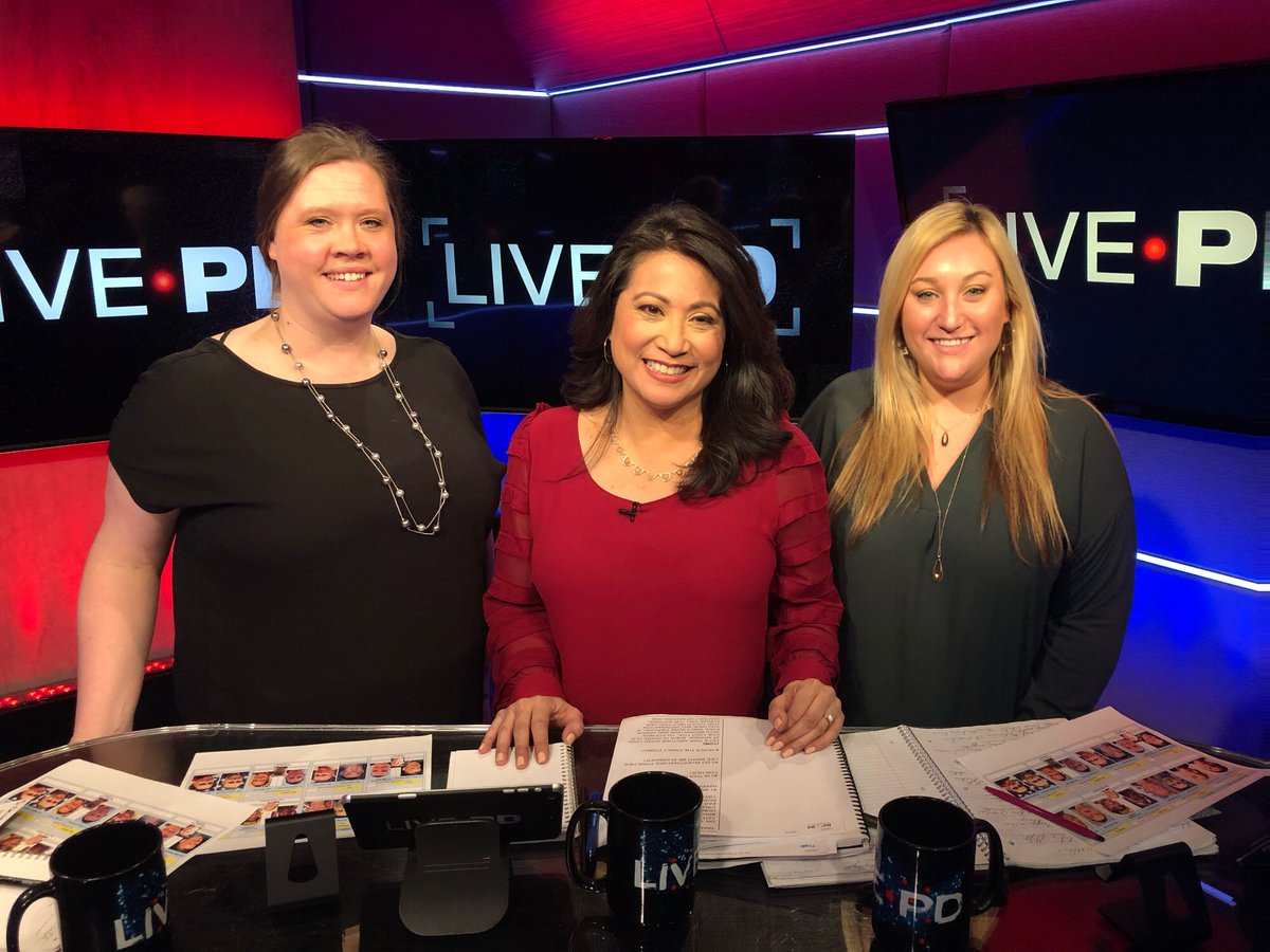 #FlashbackFriday: Our 2019 #LivePD visit. We're forever grateful to all of you for helping us bring home so many kids. Special TY to my NCMEC colleagues Becky & Christine who always work so hard behind the scenes! We miss you @LivePDNation 💛