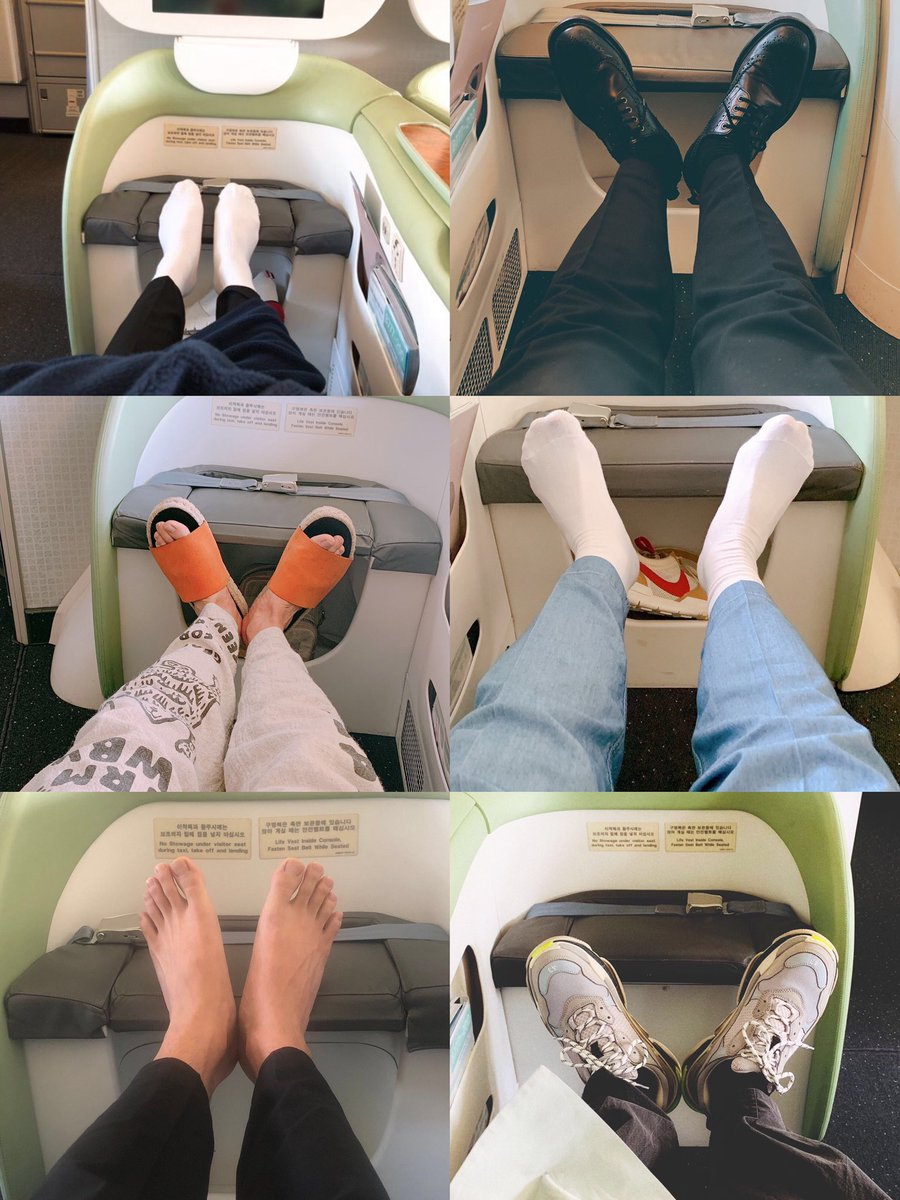 exactly 1 year ago today when hobi posted a picture of his feet on weverse and the members copied him   @BTS_twt pic.twitter.com/mUbr6MaT4T  by K-Charts & Translations⁷