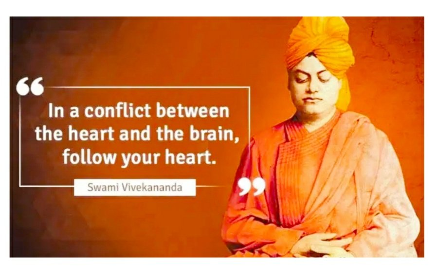 "Remembering the icon of the youth #SwamiVivekananda on his birth anniversary.  ""Arise, awake, and do not stop until the goal is reached."" #SwamiVivekanandaJayanti https://t.co/g7o00p2ox7"